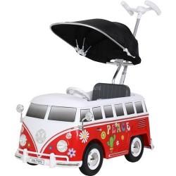 GROSSISTA VW BUS PUSH CAR RED PRIMIPASSI