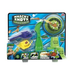 GROSSISTA WHACKY SHOTS LANCIAMOSTRI ACTION PACK 5+ANNI 20X4.