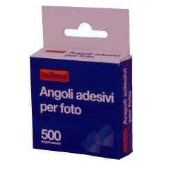 GROSSISTA ANGOLI ADESIVI PER FOTO 500PZ