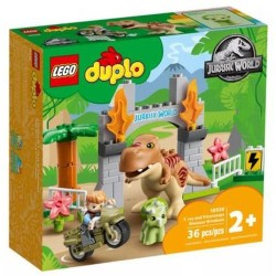 GROSSISTA LEGO DUPLO 10939 FUGA DEL T.REX E DEL TR ICERATOPO