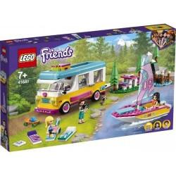 GROSSISTA LEGO 41681 CAMPER VAN NELLA FORESTA E BA RCA A VEL