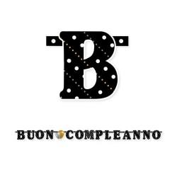 GROSSISTA FESTONE BUON COMPLEANNO PRESTIGE 215CM