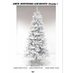 GROSSISTA ALBERO MONT. SLIM BIANCO CM.180 RAMI 494