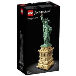 GROSSISTA LEGO 21042 ARCHITECTURE STATUA LIBERTA' 19X11X35CM