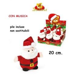 GROSSISTA BABBO NATALE H20CM C/MUSICA