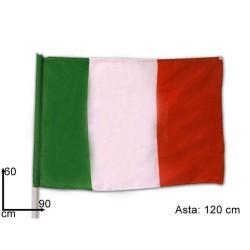 GROSSISTA BANDIERA ITALIA C/ASTA 60x90