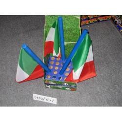GROSSISTA BANDIERA ITALIA CON INNO D.2CM L.42CM +3
