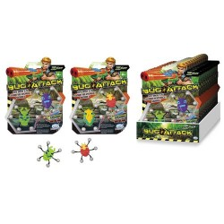 GROSSISTA BUG ATTACK PACK 2PZ BUG 7CM 2ASS. +8ANNI BLISTER 2