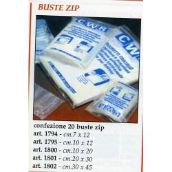 GROSSISTA BUSTE ZIP CM.10X12 PZ.20