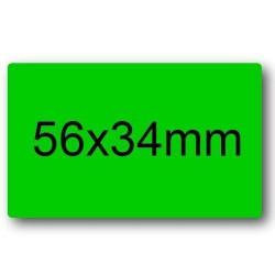 GROSSISTA BUSTINE ETICHETTE 10 FOGLI 56X34