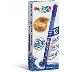 GROSSISTA CARIOCA OOPS ERASABLE PEN BOX BLU C.12