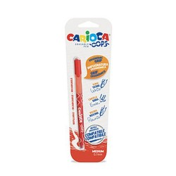 GROSSISTA CARIOCA OOPS ROSSO 1PZ PENNA CANCELL. BL