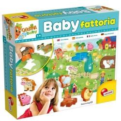 GROSSISTA CAROTINA BABY FATTORIA 28.5X5.7X25.5CM 6 ANIMALI I