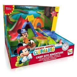 GROSSISTA MICKEYMOUSE CLUBHOUSE CAMPING SET +3ANNI 20X15X20C