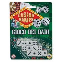 GROSSISTA CASINO GAMES DADI 12 PZ