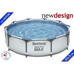 GROSSISTA PISCINA STEEL PRO MAX CM. 305X76