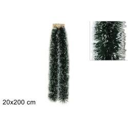 GROSSISTA FILO ADDOBBO 2MTX20CM VERDE/BIANCO ART(3 6068GR/W)