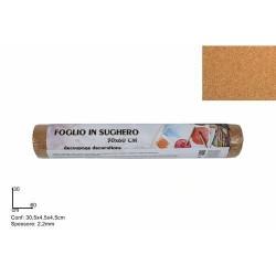 FOGLIO SUGHERO 2,2MM 30X60 CM