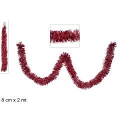 GROSSISTA FILO ADDOBBO ROSA 8CM X 2MT 4PLY HC18-8
