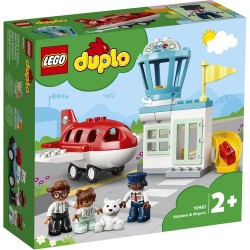 GROSSISTA LEGO DUPLO 10961 AEREO E AEROPORTO