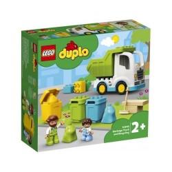 GROSSISTA LEGO DUPLO 10945 CAMION DELLA SPAZZATURA E RICICLA