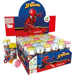 GROSSISTA BOLLE SAPONE SPIDERMAN - 4ASS. C.36 D.4CM H.11