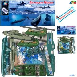 GROSSISTA BUSTA BATTAGLIA NAVALE C/AERE/ELIC. ASS. +3ANNI 25
