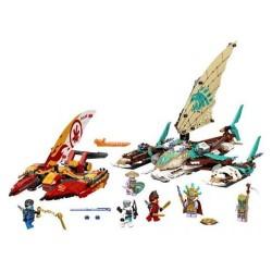 GROSSISTA LEGO 71748 BATTAGLIA IN MARE CATAMARANI