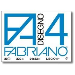 GROSSISTA FABRIANO BLOCCO F4 24X33 SQUADRATO