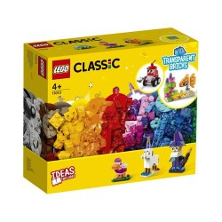 GROSSISTA LEGO 11013 MATTONCINI TRASP. CREATIVI