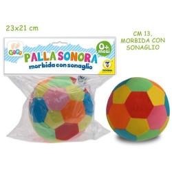 PALLA SONORA MORBIDOSA C/SONAGLIO