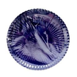 GROSSISTA PIATTI CARTA PLASTIF. 23CM 10PZ BLUE CIN