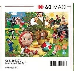 GROSSISTA PUZZLE PZ.60 MAXI MASHA'S TALES 68X48CM CLEMENTONI