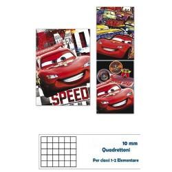 GROSSISTA QUADERNO MAXI CARS 80GR 20+1FF -10MM-