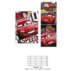 GROSSISTA QUADERNO MAXI CARS 80GR 20+1FF -A-